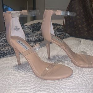 steve madden barely there heels